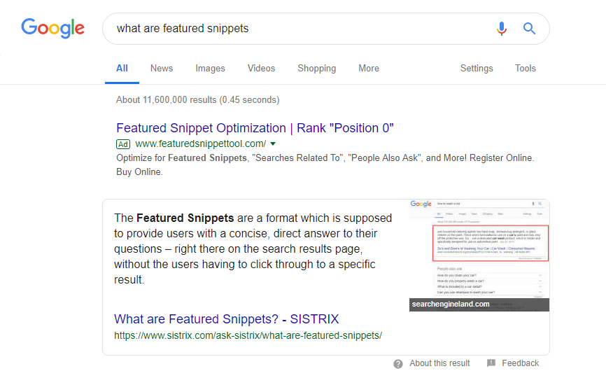 How To Optimise Your Content For Google's Featured Snippets | AIA