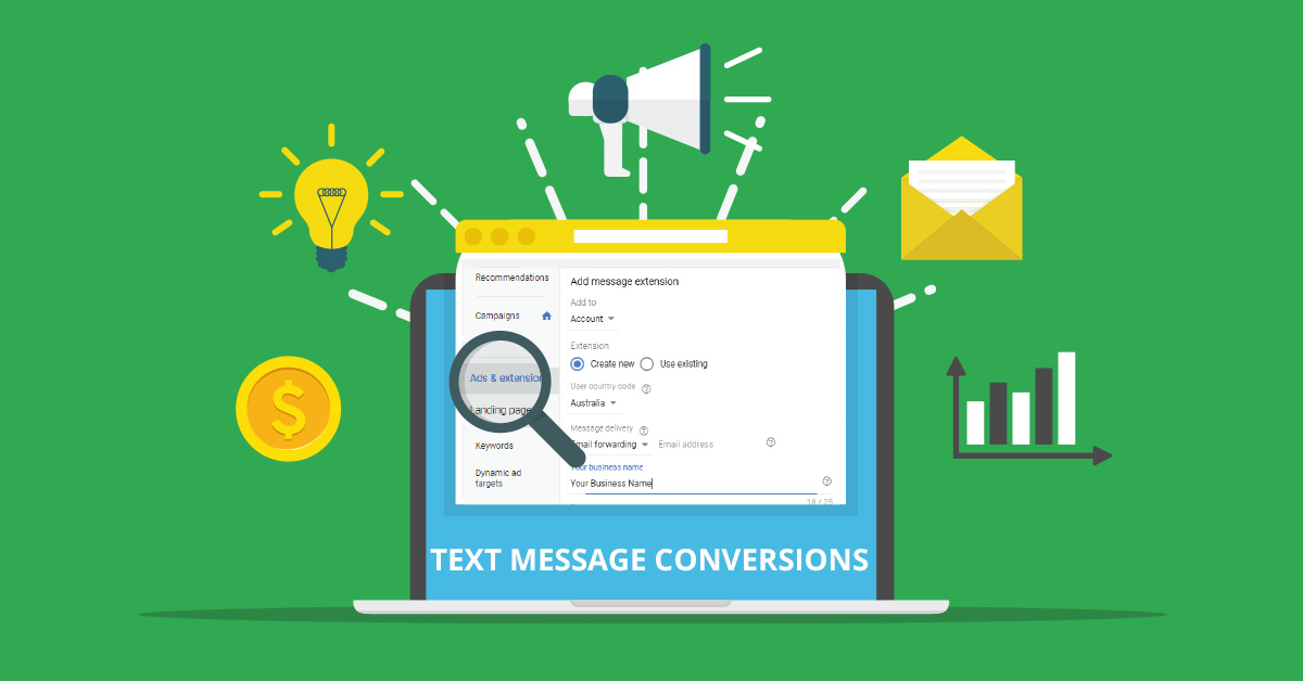 How to Set-up Text Message Conversions on Google Ads | AIA